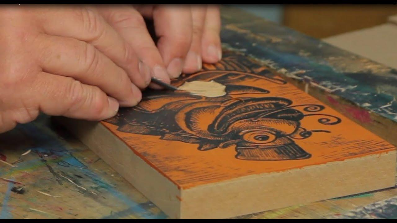 Lino & Relief Printmaking - YouTube