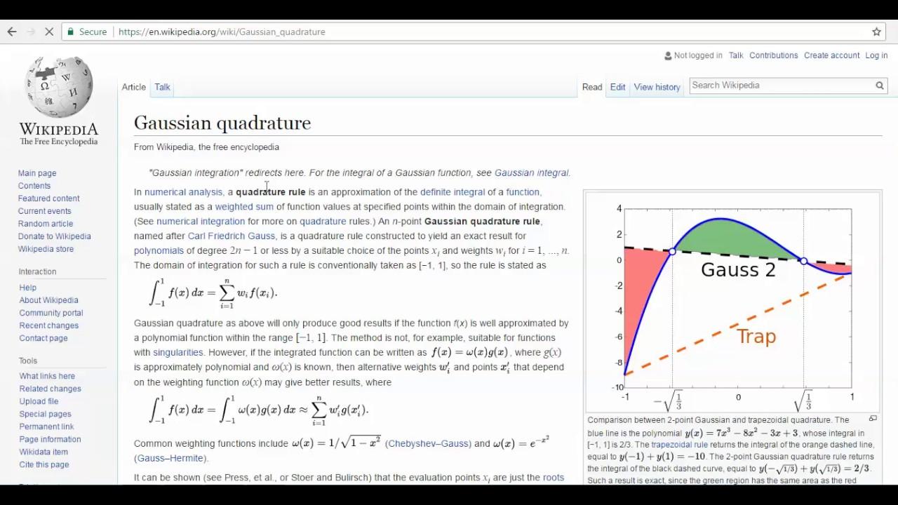Finite Element Method Matlab Code using Gaussian Quadrature