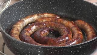 Домашняя мясная колбаса - лучший рецепт!