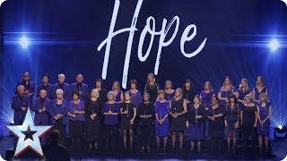 Missing People Choir perform Birdy's Wings   Semi-Final 5   Britain's Got Talent 2017