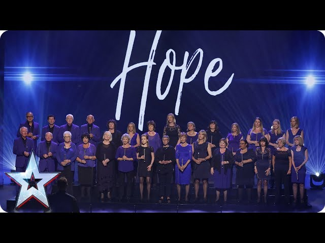 Missing People Choir perform Birdy's Wings | Semi-Final 5 | Britain's Got Talent 2017