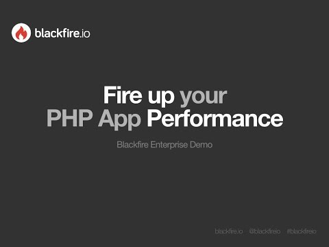 Blackfire Enterprise Demo