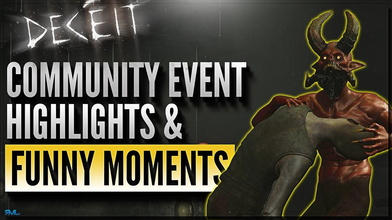 Deceit Halloween Event 2020 DECEIT COMMUNITY EVENT HIGHLIGHTS & FUNNY MOMENTS   Halloween
