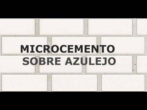 MICROCEMENTO SOBRE AZULEJO