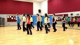Maria Cha Cha - Line Dance (Dance & Teach in English & 中文)