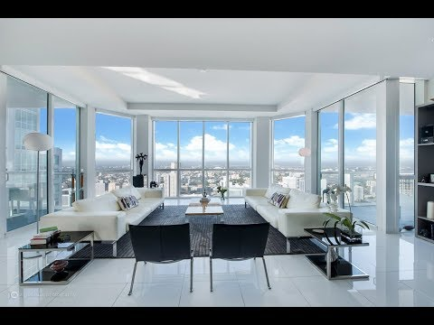 Miami Penthouse amazing outdoor spaces PH4908 244 Biscayne Blvd Miami Florida 33132