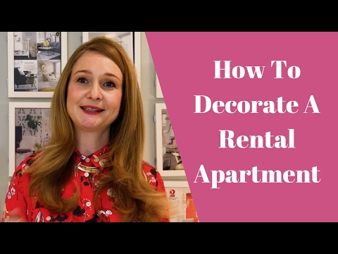 Apartment Design | Rental Apartment Decorating Ideas | 2017
