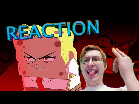 Suponjibobu Anime Ep #1: Bubble Bass Arc (Rus Dub) | RUSSIAN REACTION
