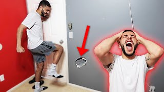 I KICKED A HOLE IN FAZE RUG'S ROOM...