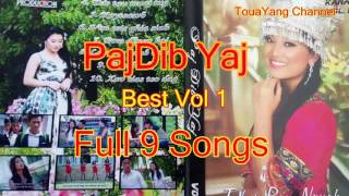 Paj Dib Yaj Best Vol 1 Full 9 Songs