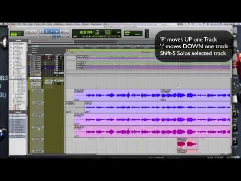 Comping Vocals and Workflow in Pro Tools 11 Pt  4