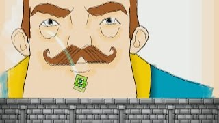 HELLO NEIGHBOR EN GEOMETRY DASH