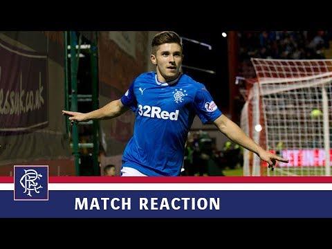 REACTION | Declan John | Hamilton 1-4 Rangers