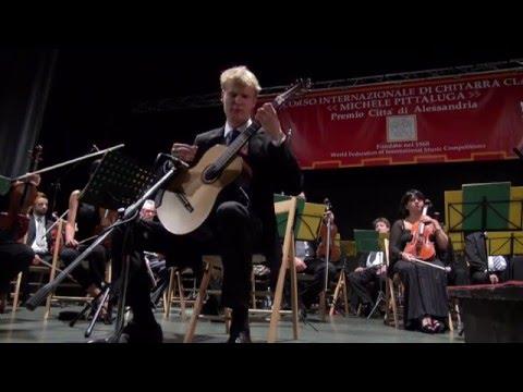 Daniel Egielman 3rd Prize at the   48th M.Pittaluga guitar competition