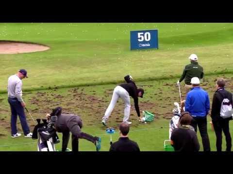 Rory Mcilroy   Irish Open 2017   RARE Practice Footage   Portstewart GC