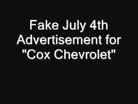 Air Check: Fake 4th of July Car Sale Radio Adwmv