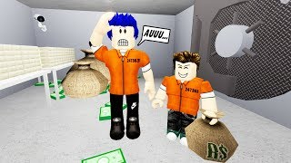 DAD AND I STARTED ROBBING! Roblox Family Adventures #12