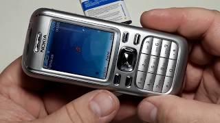 Nokia 6234 оригинал ретро телефон из Германии состояние нового