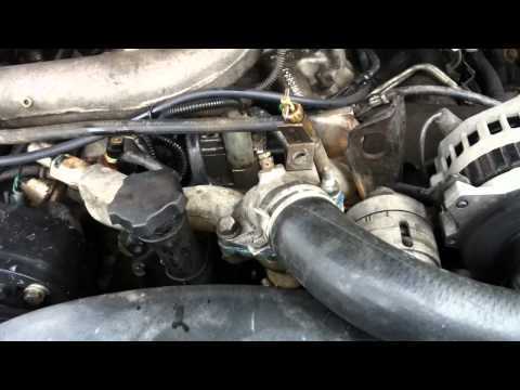 1994 Chevy Silverado K1500 6.5L Turbo Diesel Cooling System Flush - Part 1