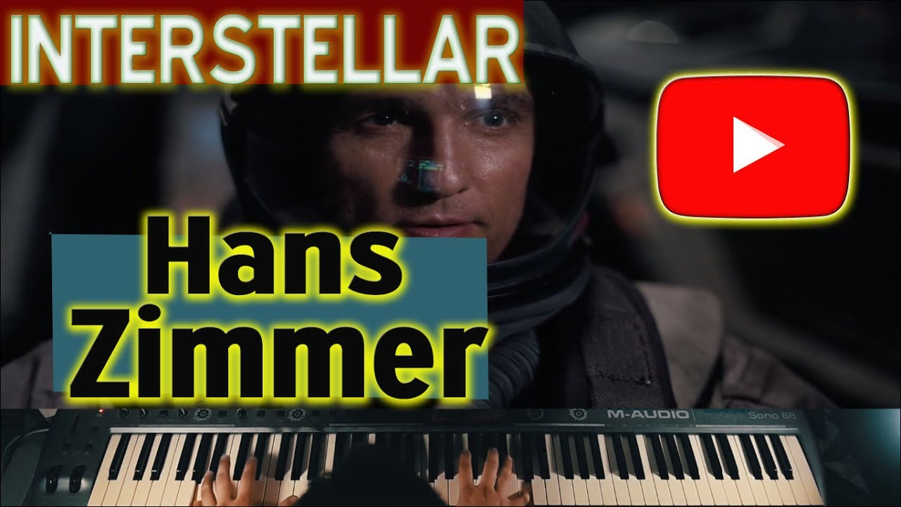 hans zimmer interstellar main theme piano version