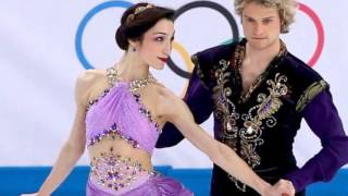 Winter Olympics Meryl Davis and Charlie White win gold medal in ice dance - 18 February 2014