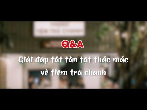 [BARISTA SKILLS] Q&A01: Q&A giải đáp tất tần tật thắc mắc về Tiệm trà chanh