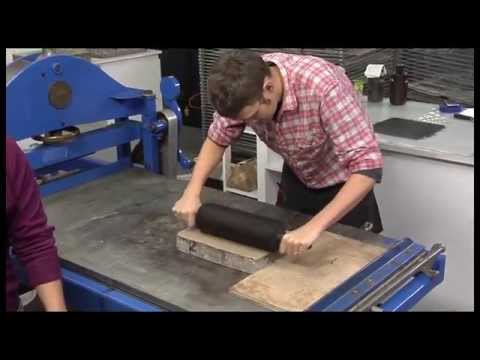 Pressure + Ink: Lithography Process