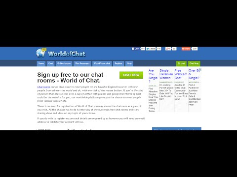 Free Chat Rooms, Meet People Online.