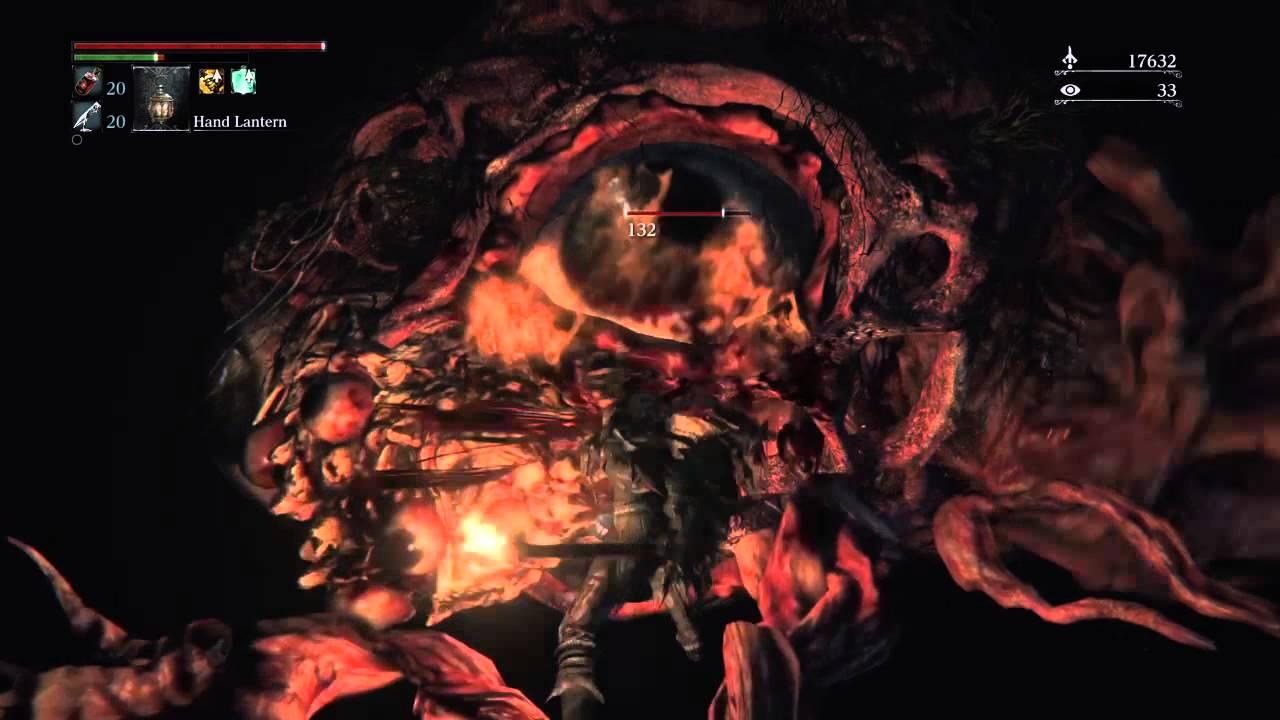 bloodborne nightmare of mensis brain