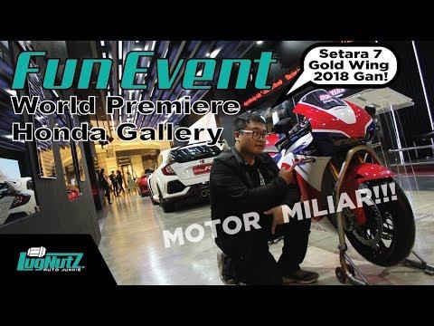 Pamer Motor Termahal 7 Miliar! NSX juga! - Honda Gallery FUN EVENT | LUGNUTZ Indonesia