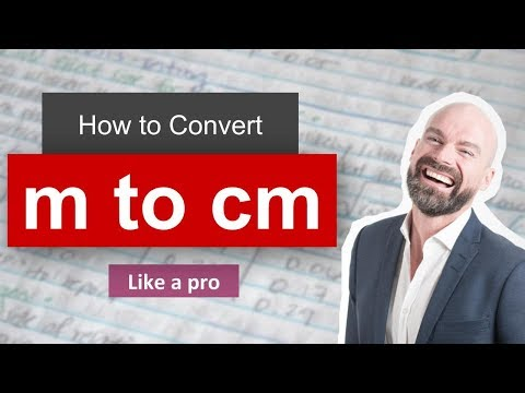 Convert Meter to Centimeter (m to cm) - Example and Formula