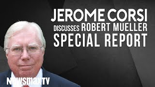 Jerome Corsi says Robert Mueller failed to produce evidence of a crime.