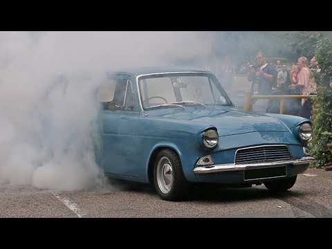 SLEEPER! Supercharged Ford Anglia 105e Estate
