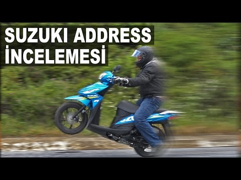 Suzuki Address Scooter İncelemesi