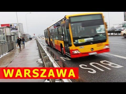 Buspasy w Warszawie / Bus lanes in Warsaw