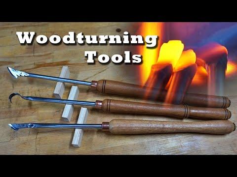 Making Woodturning Tools (Skew Chisel, Gouge)/선반칼