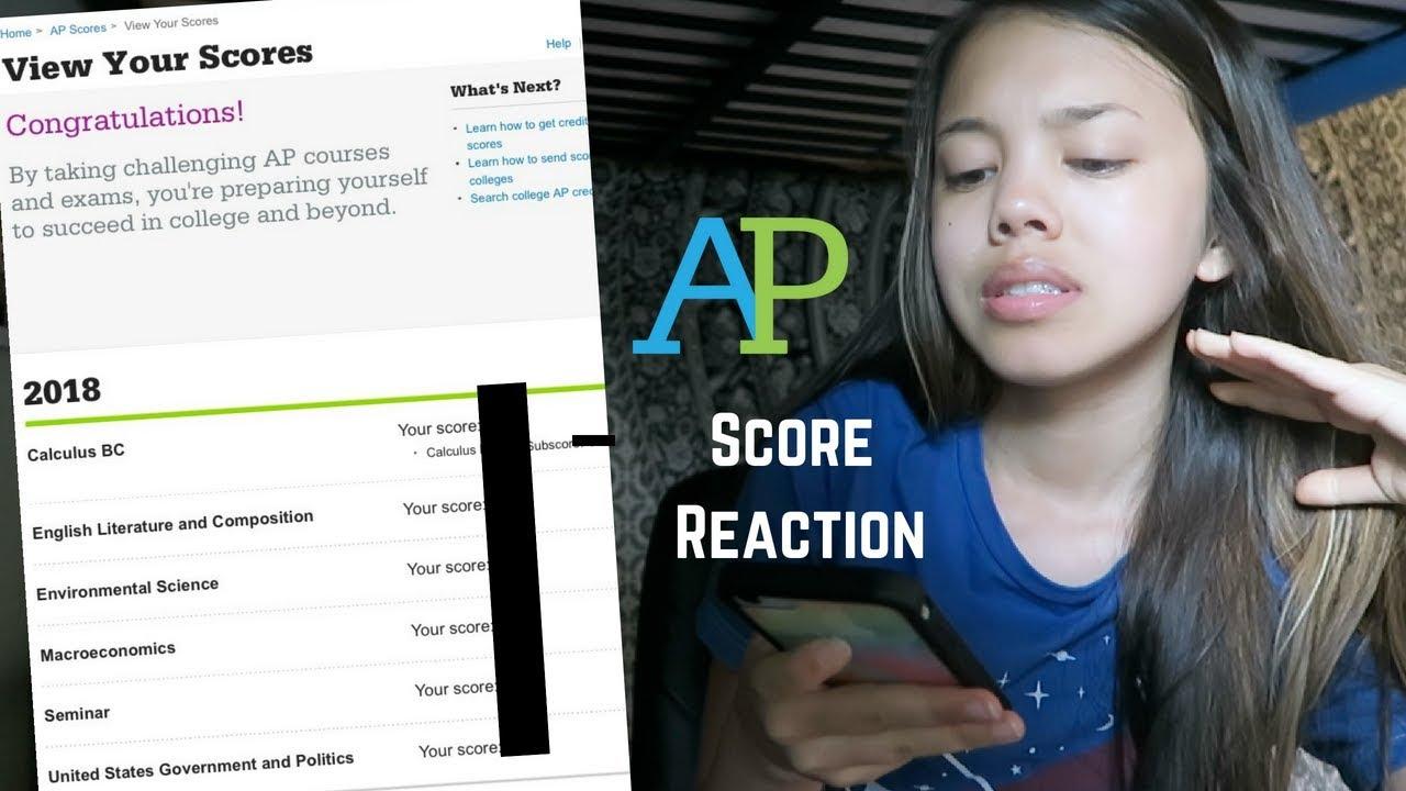 AP Scores Reaction 2018