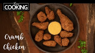 Crumb Fried Chicken | Fried Chicken | Easy Chicken Recipes | Chicken Starters