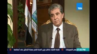 """د.خالد فهمي وزير البيئة عن   محمد مرسي """" قدر ولطف """" وهشام قنديل """"ضحية """""""