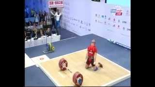 Trzy rekordy świata z rzędu - Nurudinov, Bedzhanyan i Ilyin (kat. 105, Almaty 2014)