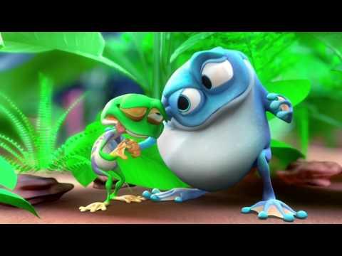 Мультфильм про жабу