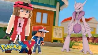 Minecraft: Pokemon X Y - SERENA DESCOBRE TUDO SOBRE O MEGA MEWTWO #74