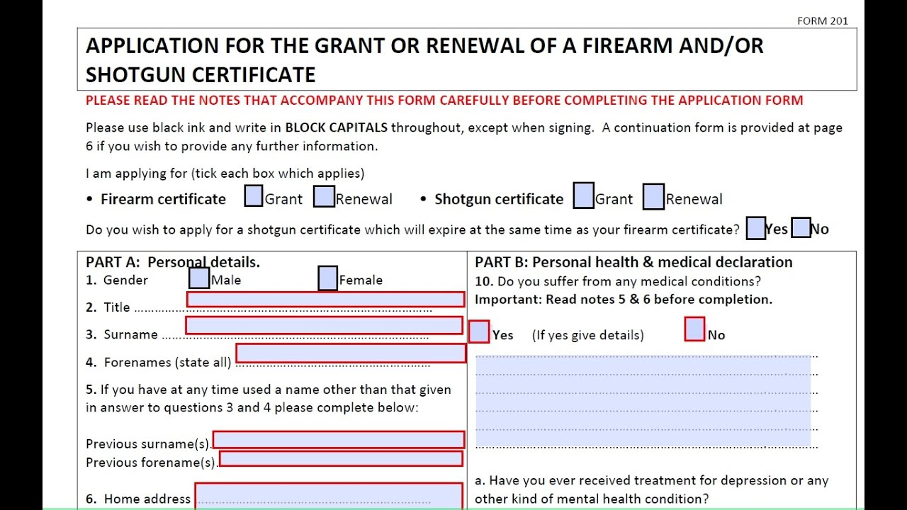 How to apply for a gun license Uk - YouTube