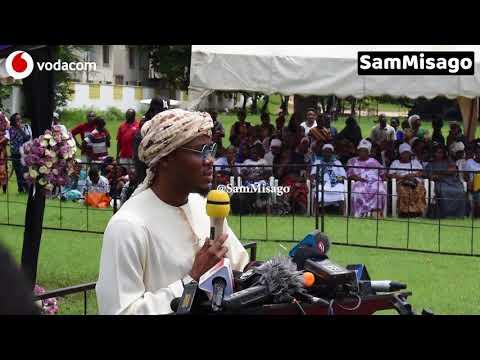 Alichoongea ALIKIBA Kwenye Hafla ya Kuuaga Mwili wa AGNES MASOGANGE Leaders Club