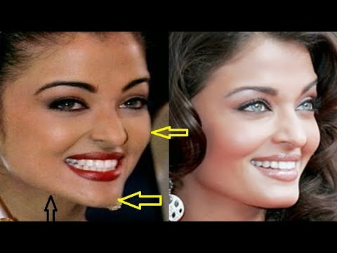 Aishwarya Rai before plastic surgery and skin bleach | Doovi