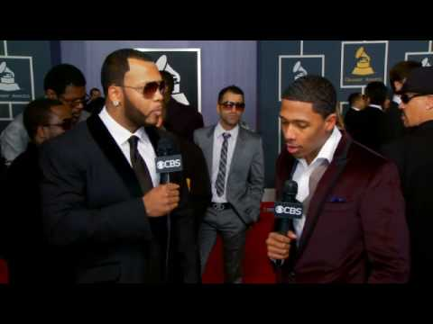 52nd Grammy Awards - Flo Rida Interview
