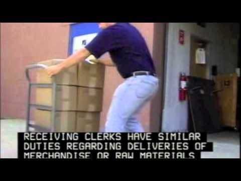 Become a Shipping Receiving and Traffic Clerk YouTube – Shipping Receiving Job Description
