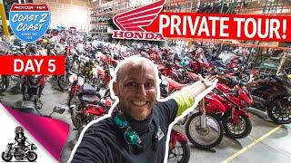 Private Tour of Honda's Secret Museum!