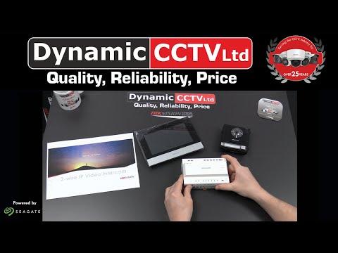 Dynamic CCTV Showcase Hikvision 2 Wire IP Intercom System