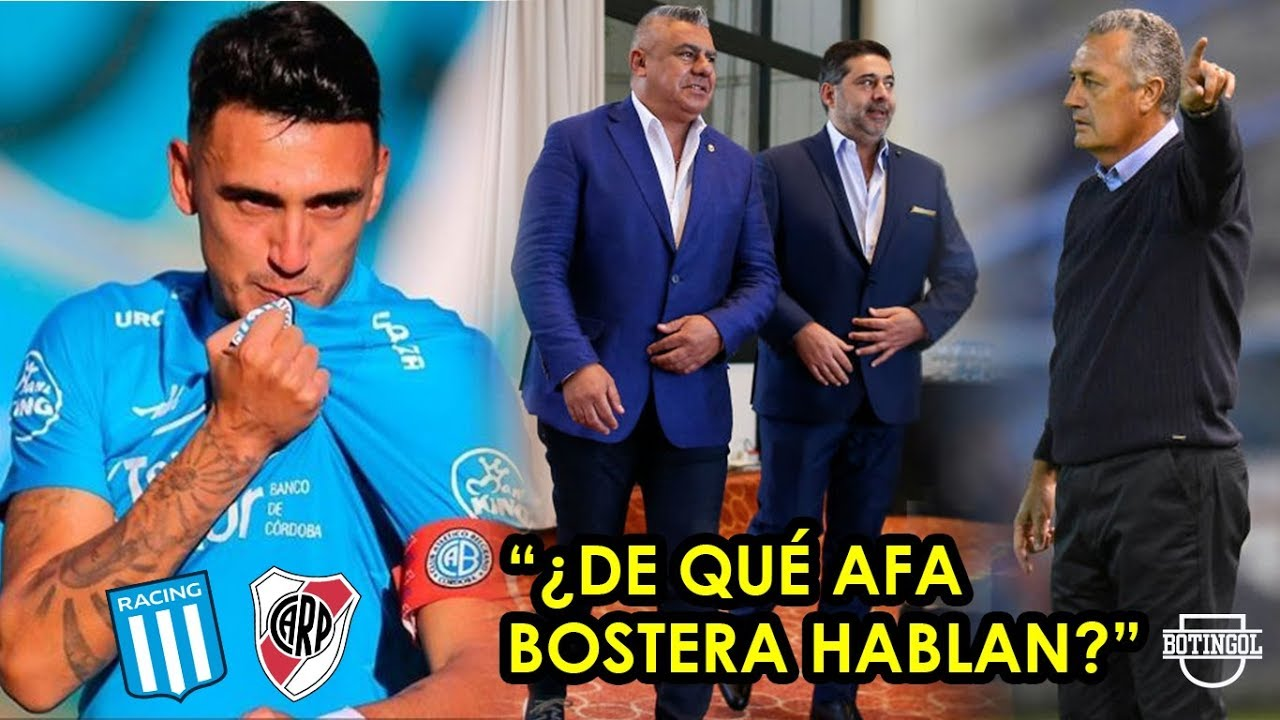 "RACING y RIVER se disputan a MATÍAS SUÁREZ + TAPIA se defiende de ""AFA bostera"" + ALFARO mete mano"